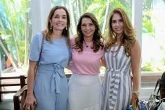 Fernanda Baquit, Márcia Travessoni e Rafaela Otoch