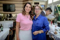 Márcia Travessoni e Consuelda Andrade