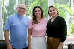Padre Eugênio, Márcia Travessoni e Albanisa Gomes
