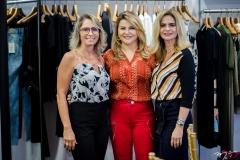 Katiana Valência, Silvana Guimarães e Germana Cavalcante