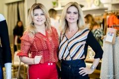 Silvana Guimarães e Germana Cavalcante