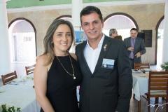 Eveline e Murilo Santa Cruz
