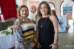 Helena Corrêa e Eveline Santa Cruz