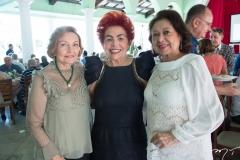 Maria Amoreira, Josilda Belchior e Yolanda Vasconcelos