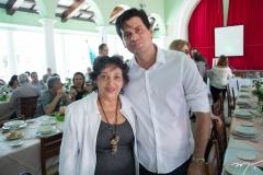 Miracy Ferreira Lima e David Aguiar