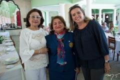 Yolanda Vasconcelos, Maria Vital e Renata Vasconcelos