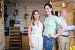 Nicole Benevides e Gabriela Rolim