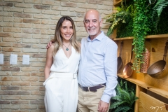 Nicole Benevides e Juan Carlos Picasso
