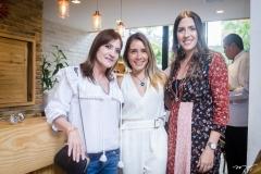 Pretinha Rolim, Nicole Benevides e Roberta Ary