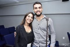 Ana Caracas e Bruno Calaça