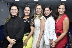 Camile Abreu, Carla Figueiredo, Poliana Brandão e Maura Maia