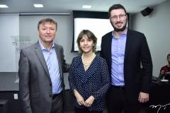 Mauricio Filizola, Circe Jane e Rodrigo Leite