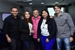 Rodolfo Richard, Raquel Barros, Grey Sampaio, Aniele Gurgel e Paulo Teixeira