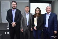 Rodrigo Leite, Mauricio Filizola, Raquel Barros e Sávio Carvalho