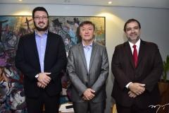 Rodrigo Leite, Mauricio Filizola e Hugo Leão