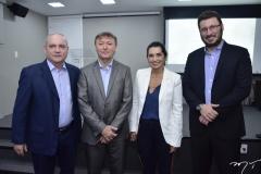 Sávio Carvalho, Mauricio Filizola, Márcia Travessoni e Rodrigo Leite