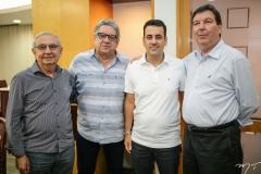 Álvaro Correia, Fred Fernandes, Aloisio Neto e Heitor Studart