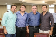 Augusto Pinho, Vitor, Ricardo e Ricardo Cavalcante