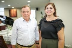 Claudio Targino e Rosangela Cavalcante