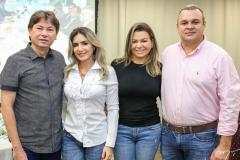 Edgar Gadelha, Jaqueline Maia, Cibele Lucena e Alexandre Engels