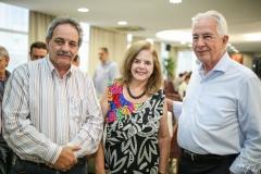 Emilio Morais, Roseane Medeiros e Carlos Prado