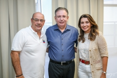 Fernando Tarvessoni, Ricardo Cavalcante e Marcia Travessoni