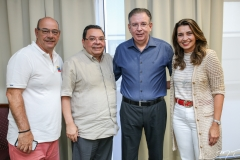 Fernando Tarvessoni, Gera Teixeira, Ricardo Cavalcante e Márcia Travessoni