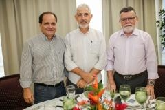 Fernando Ximenes, Lauro Martins e Marcos Albuquerque