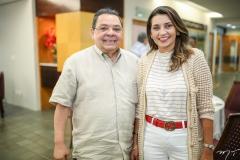 Gera Teixeira e Marcia Travessoni