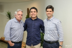 Hélio Beltrão, Luis Fernando e Glauber Bezerra