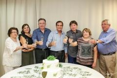 Holandina, Rosangela e Ricardo Cavalcante, Beto Studart, Edgar Gadelha,Sidonia Barbosa e Roberto Macedo