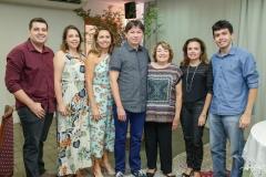 Marcelo Murinele, Lia e Patricia Ponte, Edgar Gadelha, Sidonia Barbosa, Isabel Pereira e Leonardo Ponte