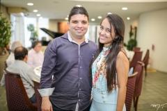 Marcelo Tavares e Luana Vieira