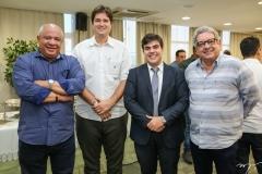Pedro Alfredo, Fernando Lauriano, Tiago Pinho e Fred Fernandes