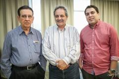 Renato Aragão, Emilio Morais e Darlan Moreira
