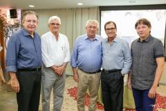Ricardo Cavalcante, Assis Machado, Roberto Macedo, Beto Studart e Edgar Gadelha