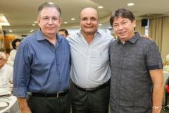 Ricardo Cavalcante, Fernando Cirino e Edgar Gadelha
