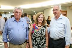 Roberto Macedo, Roseane Medeiros e Carlos Prado