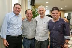Roberto Ramos, Fernando Ximenes, Lauro Martins e Marcelo Tavares