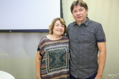 Sidonia Barbosa e Edgar Gadelha