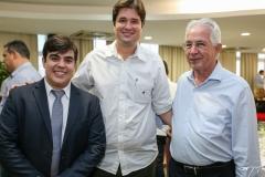 Tiago Pinho, Fernando Laureano e Carlos Prado