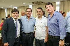 Tiago Pinho, Beto Studart, Aloisio Ramalho e Vitor Cavalcante