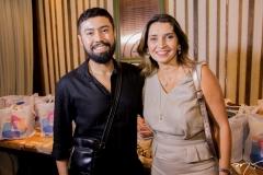 Diego Gregório e Márcia Travessoni
