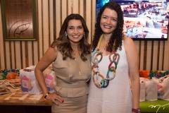 Márcia Travessoni e Ana Cláudia Farias