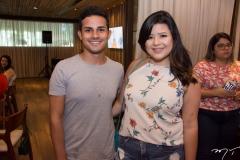 Weverton Alves e Brenda Saldanha
