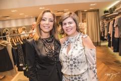 Ana Paula Daud e Sandra Brayner