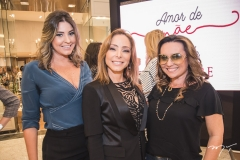 Carol Mello, Ana Paula Daud e Socorro Medeiros