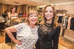Cláudia Bacelar e Ana Paula Daud