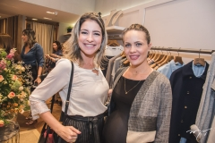 Leiliane Pinheiro e Cintia Sampaio