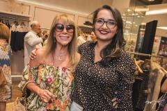 Liduína Melo e Cássia Amorim